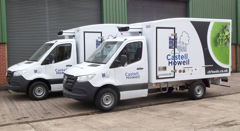 Castell Howell Try 3.5t Box Bodies
